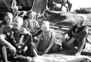 Il settimo sigillo (Det Sjunde Inseglet) Ingmar Bergman Max von Sydow, Gunnar Björnstrand, Gunnel Lindblom, Bengt Ekerot, Bibi Andersson streaming 57 Il settimo sigillo citazioni, dialoghi e frasi