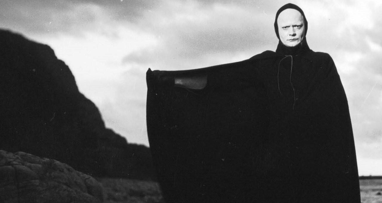 Il settimo sigillo (Det Sjunde Inseglet) Ingmar Bergman Max von Sydow, Gunnar Björnstrand, Gunnel Lindblom, Bengt Ekerot, Bibi Andersson streaming 7 Il settimo sigillo citazioni, dialoghi e frasi