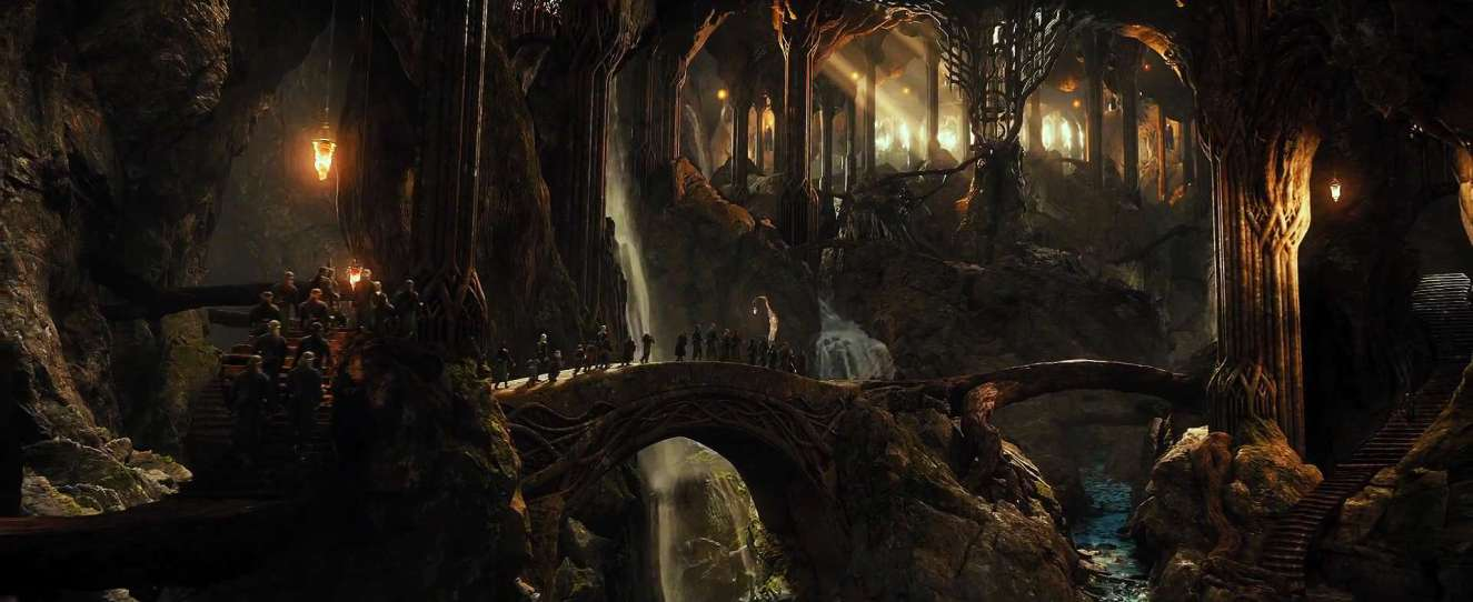 Lo Hobbit - La desolazione di Smaug di Peter Jackson con Ian McKellen, Martin Freeman, Richard Armitage, Ken Stott, Evangeline Lilly, Cate Blanchett streaming 2 Lo Hobbit La desolazione di Smaug frasi citazioni e dialoghi