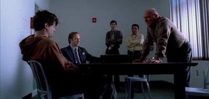 Breaking Bad, Dean Norris, Hank Schrader, Bob Odenkirk, Saul Goodman, interrogatorio