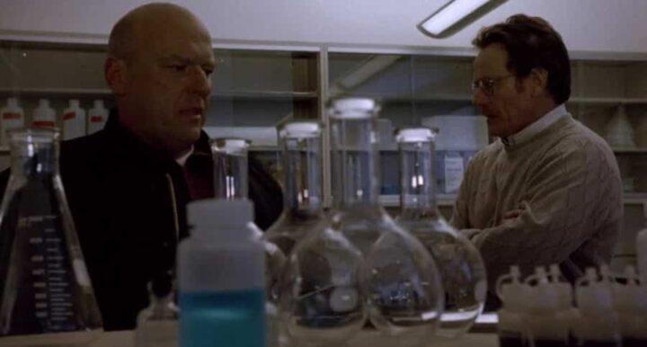 Breaking Bad, Dean Norris, Hank Schrader, Bryan Cranston, Walter White, laboratorio
