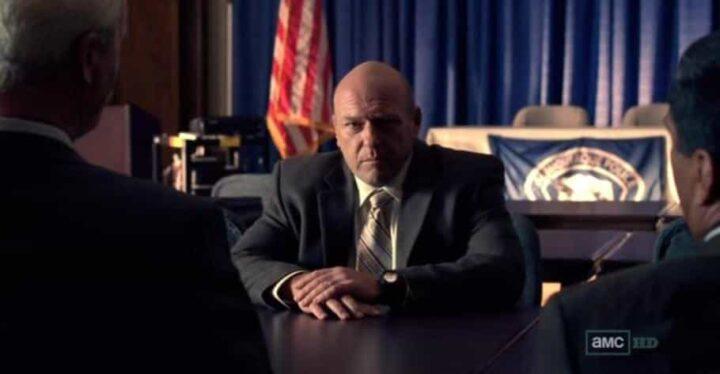 Breaking Bad, Dean Norris, Hank Schrader, bandiera stati uniti - Breaking Bad citazioni e dialoghi
