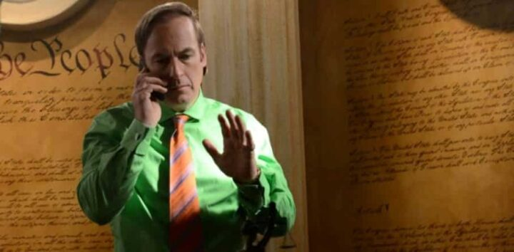 Breaking Bad, Vince Gilligan, Bob Odenkirk, Saul Goodman, studio, cellulare - Bob Odenkirk stava per essere scelto per il ruolo di Michael Scott in The Office