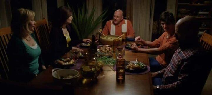 Breaking Bad, Vince Gilligan, Bryan Cranston, Walter White, Anna Gunn, Skyler White, cena, cibo