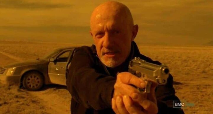 Breaking Bad, Vince Gilligan, Jonathan Banks, Mike Ehrmantraut, pistola - Breaking Bad citazioni e dialoghi