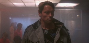 The Terminator Arnold Schwarzenegger, Michael Biehn, Linda Hamilton, Paul Winfield, Lance Henriksen, Bess Motta, Franco Columbu, Bill Paxton, James Cameron streaming 078 bloopers