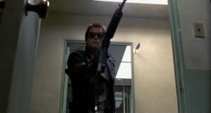The Terminator Arnold Schwarzenegger, Michael Biehn, Linda Hamilton, Paul Winfield, Lance Henriksen, Bess Motta, Franco Columbu, Bill Paxton, James Cameron streaming 183 curiosità ed errori