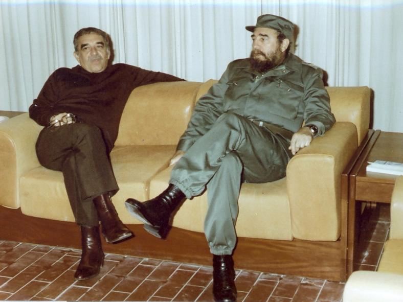 Gabriel García Márquez Fidel Castro 2 Gabriel García Márquez e il cinema