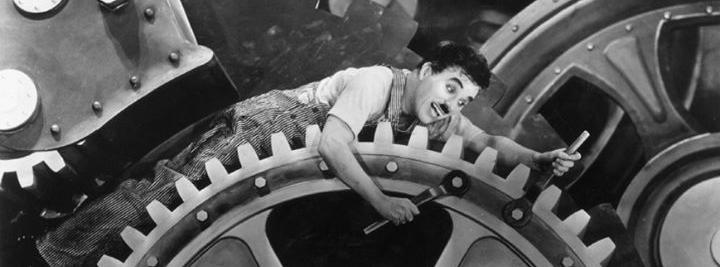 Charlie Chaplin tempi moderni Modern Times
