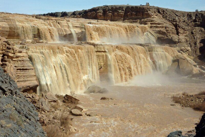 Le Grand Falls in Arizona
