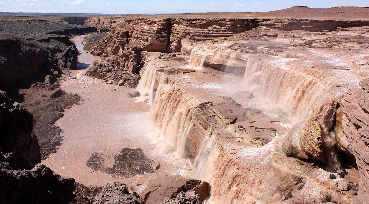 grand falls little colorado river