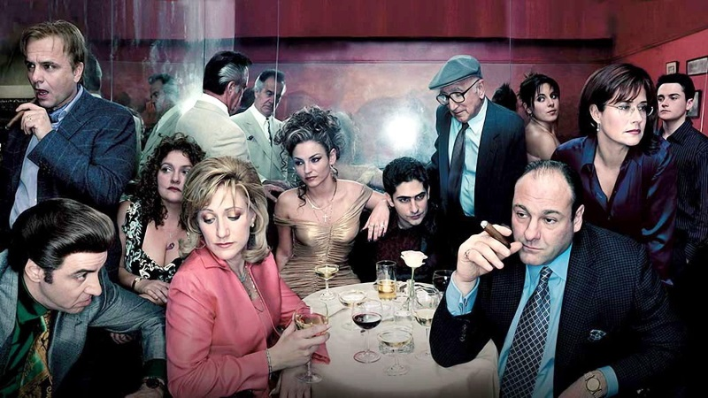 I Soprano (The Sopranos) With James Gandolfini, Lorraine Bracco, Edie Falco, Michael Imperioli.
