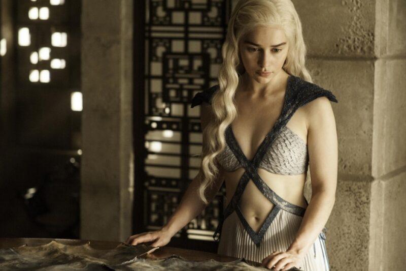 Emilia Clarke e il sesso in Game of Thrones