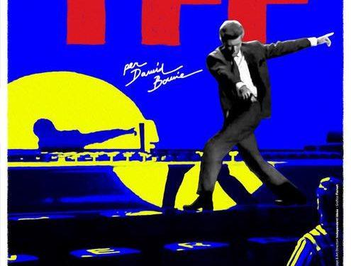 David Bowie nell'immagine logo del Tff
