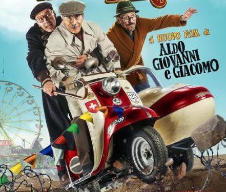 Fuga da Reuma Park il nuovo film di Aldo Giovanni e Giacomo