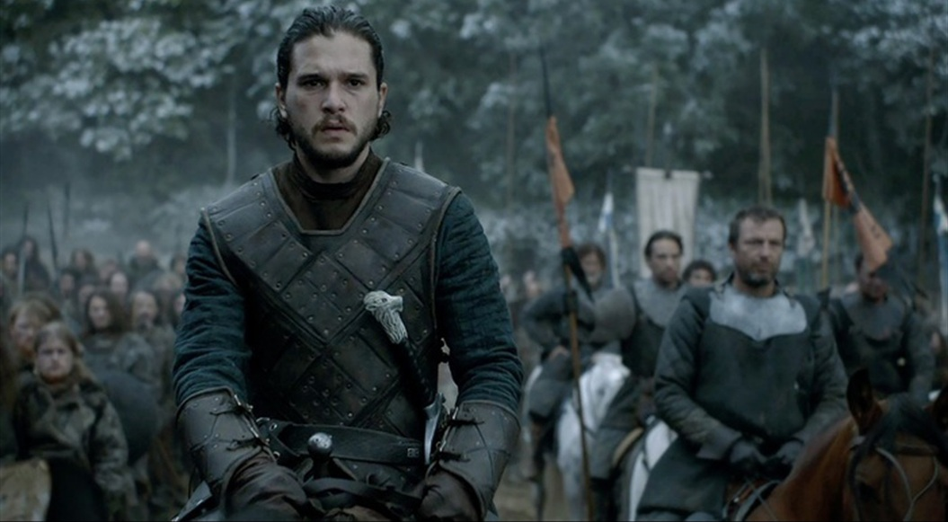 Jon Snow knight