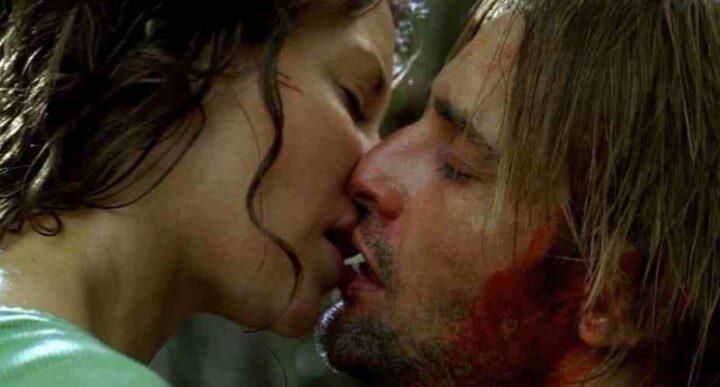 Lost, Josh Holloway, Evangeline Lilly, James Sawyer Ford, Kate Austen, kiss, bacio - Lost citazioni e dialoghi