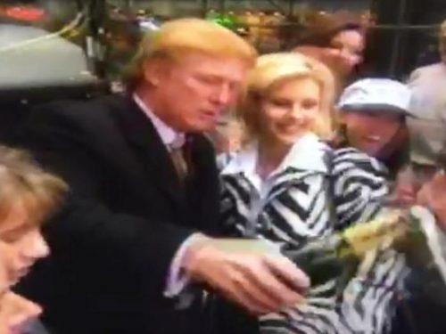 Spunta un vecchio film porno con Donald Trump