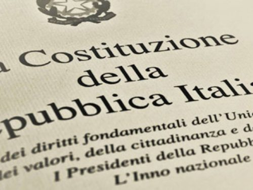 Referendum costituzionale: l'appello degli artisti per il sì