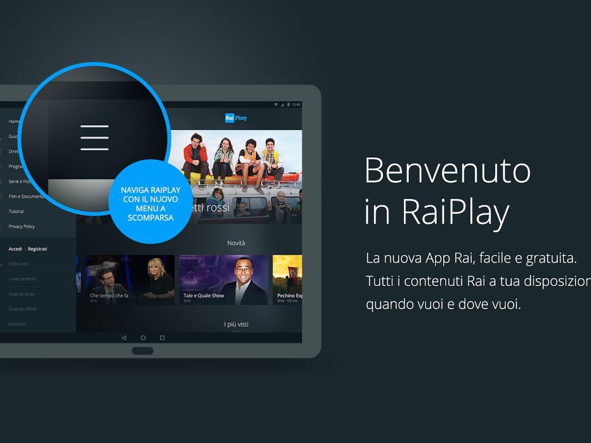 RaiPlay, un'ampia scelta di film in streaming gratis
