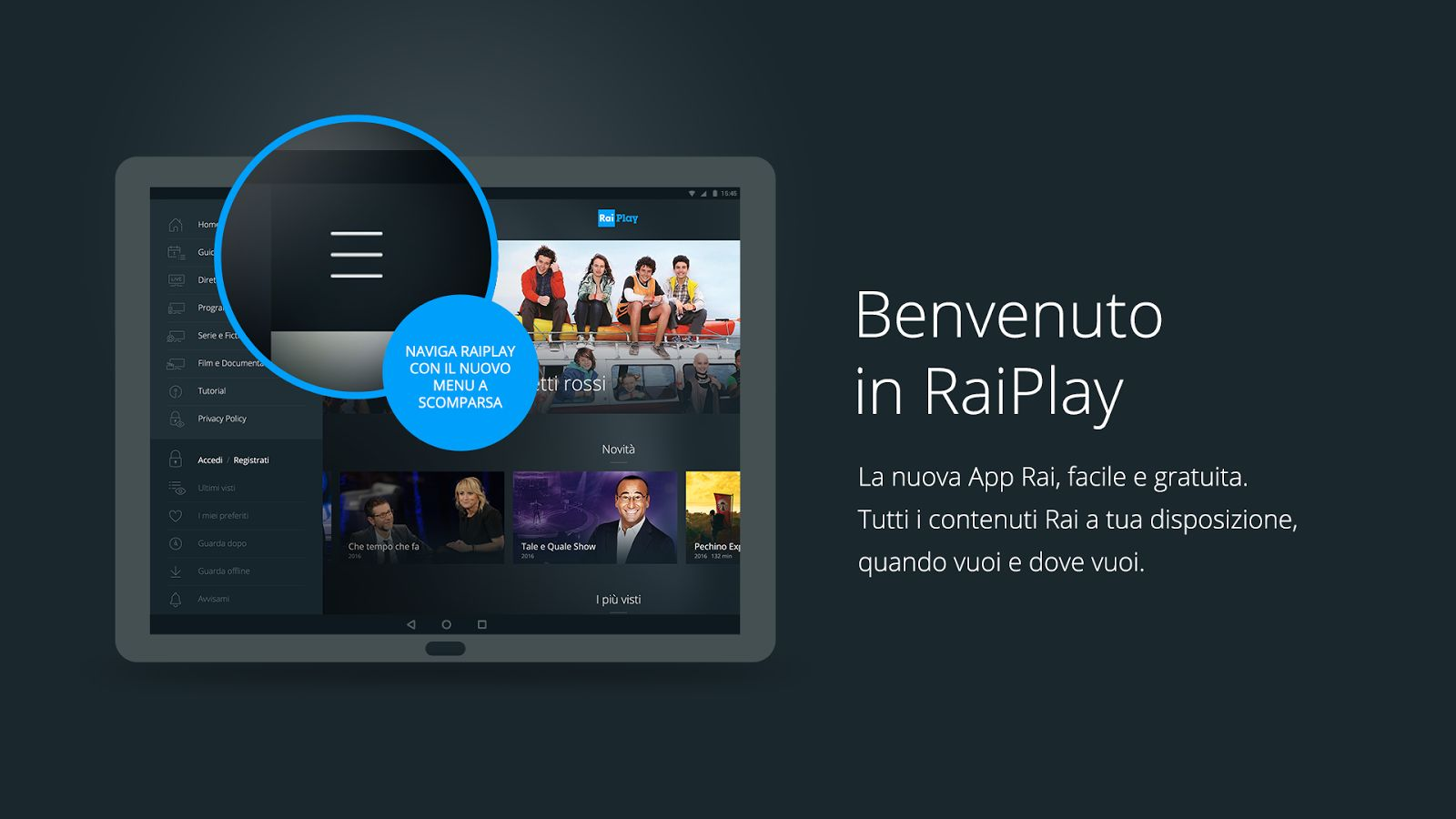 RaiPlay, un'ampia scelta di film in streaming gratis RaiPlay streaming