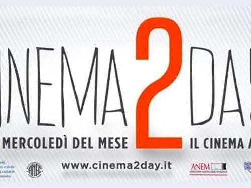 Torna il cinema a 2 euro il 9 novembre