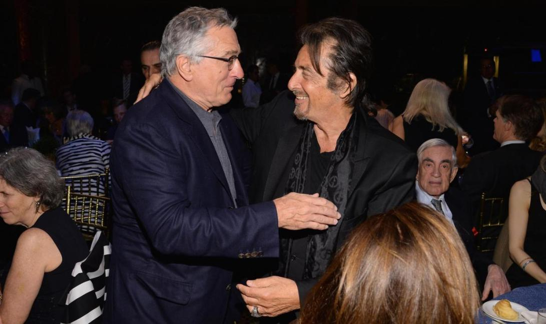 Al Pacino e Robert De Niro The Irishman il nuovo progetto di Martin Scorsese nel 2018