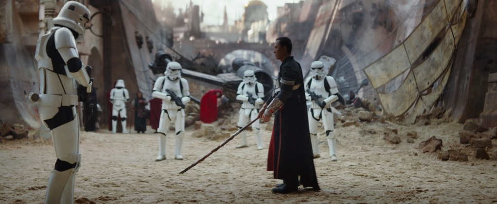 Rogue One, A Star Wars Story Gareth Edwards Felicity Jones, Diego Luna, Ben Mendelsohn, Mads Mikkelsen, Riz Ahmed, Donnie Yen, Alan Tudyk, Wen Jiang 7