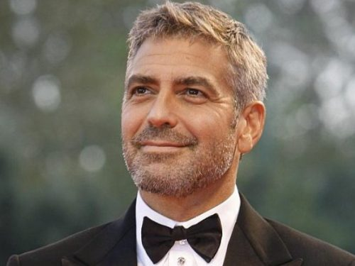George Clooney aveva la paralisi di Bell