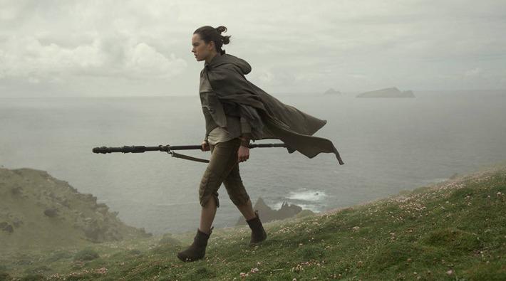 Motivo per cui Rey spaventa Luke Skywalker in una scena di Star Wars: Gli ultimi Jedi