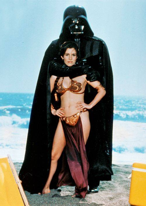Carrie Fisher la principessa Leia sexy bikini 6