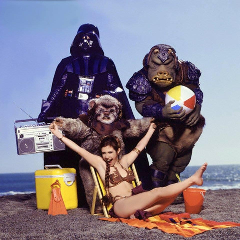 Carrie Fisher la principessa Leia sexy bikini 8