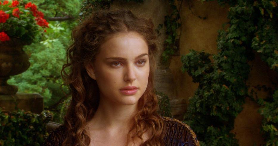 Natalie Portman in Star Wars L'attacco dei Cloni attack of the clones La più bella della galassia di Star Wars