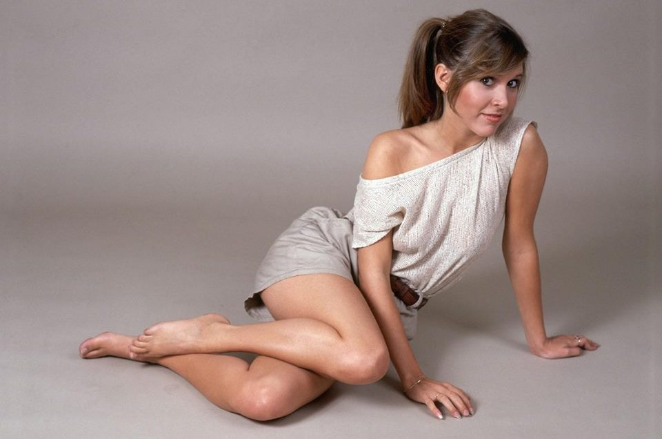 Carrie Fisher la principessa Leia