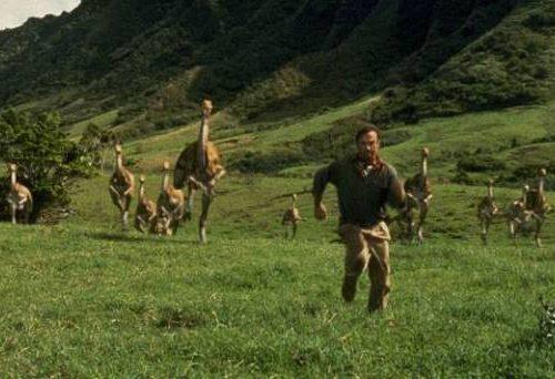 I versi dei dinosauri in Jurassic Park