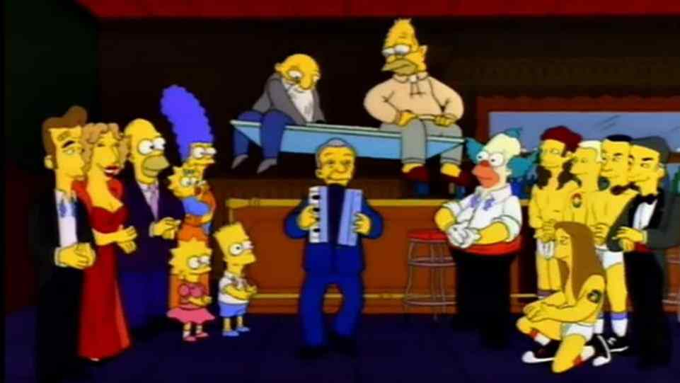 Morto Luke Perry, simpson
