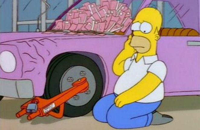 The City of New York vs. Homer Simpson La Città di New York contro Homer I Simpson