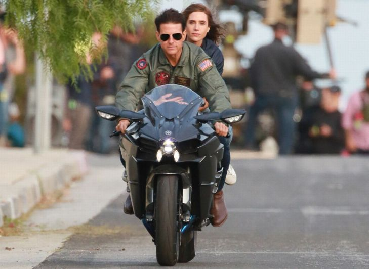 Tom Cruise e Jennifer Connelly insieme sul set