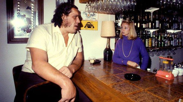André the Giant un grande bevitore