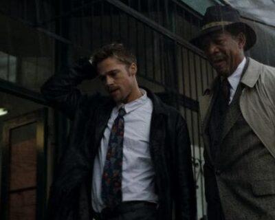 Brad Pitt ferito in Seven