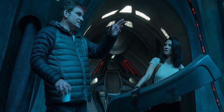 The Predator Shane Black Olivia Munn set - La travagliata produzione di The Predator