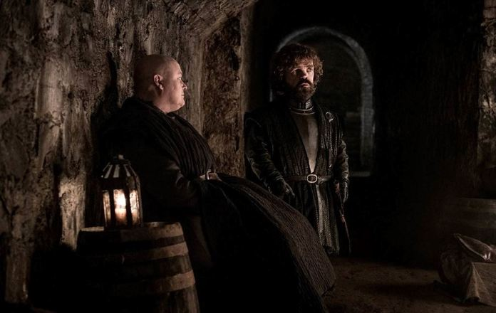 Immagini di Game of Thrones 8X03 varys tyrion lannister