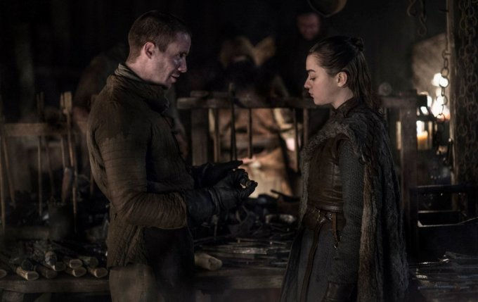 Game of Thrones 8 Arya Stark gendry