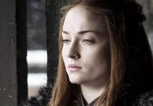 Sansa Stark in Game of Thrones di Martin
