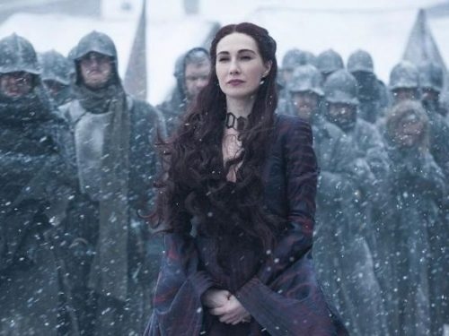 Melisandre di Game of Thrones