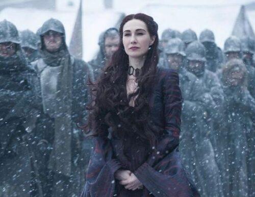 Melisandre di Game of Thrones