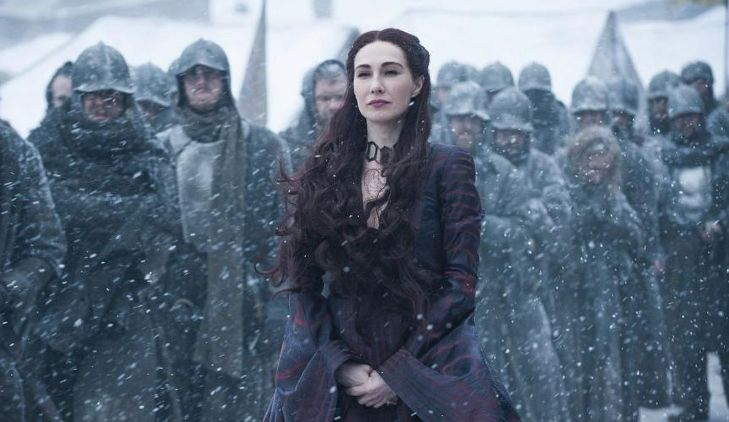 Game of Thrones melisandre Carice van Houten