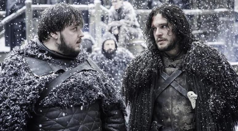 Game of Thrones samwell tarly John Bradley jon snow Kit Harington