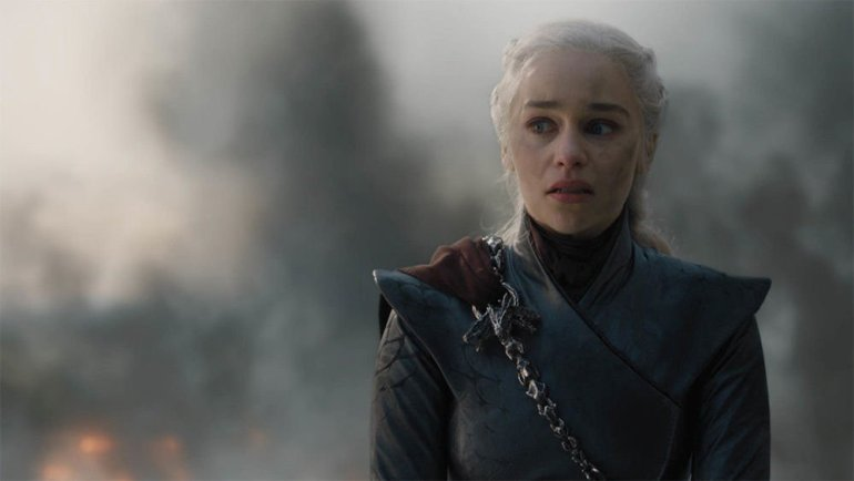 Game of Thrones 8×05 Daenerys Targaryen emilia Clarke