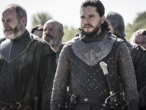 Jon Snow in Game of Thrones di Martin
